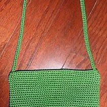 The Sak Kelly Green Hand-Crocheted Small Purse Photo