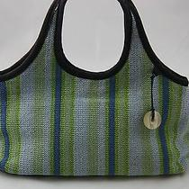 The Sak - Knit - Stripe - Satchel Purse Handbag - Purse Jewelry - Nice Photo