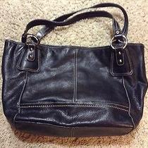 The Sak Large Black Leather Large Handbag   Photo