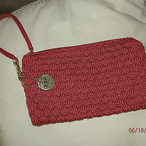 The Sak Large Crochet Knit Wristlet/purse Photo