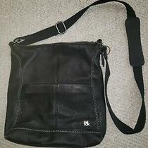 The Sak Leather Black Handbag Purse Photo