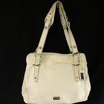 The Sak Leather Handbag Off White Large Photo