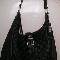 The Sak Leather Hobo Black Leather Handbag  Photo