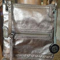 The Sak  Leather Metallic Crossbody Photo