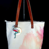 The Sak Leather Palisade Painted Palm Large Tote/shopper Nwt 149 Photo