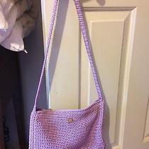 The Sak Lilac Crochet Purse  Photo