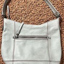 The Sak Medium Light Green Leather Hobo/shoulder Bag/purse/handbag in Guc  Photo