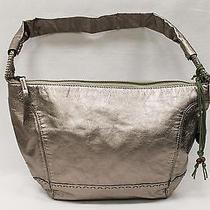 The Sak Metalic Shoulder Bag Purse Photo