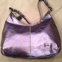 The Sak Metallic Blue Handbag Photo