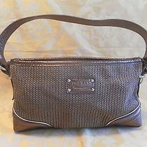 The Sak Metallic/bronze Woven Purse Photo