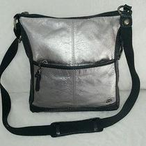 The Sak Metallic Cross Body Bag Photo