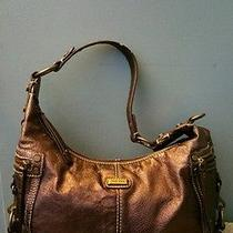 The Sak Metallic Leather Handbag  Photo