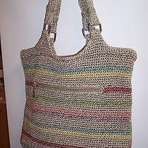 The Sak  Multicolor Crochet Purse Photo