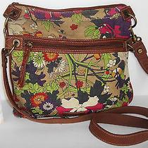 The Sak Multicolor Messenger Cross Body  Modern Handbag Purse Shoulder Photo
