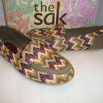 The Sak Newport Womens Nwb Shoes Multi Color Flats 7 Medium New Photo