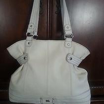The Sak  Off White Leather Large Shoulder Bag Photo