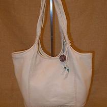 The Sak / Off White Pebbled  Leather  Hobo Bag Photo