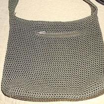 'The Sak' Olive Green Crochet Exterior Shoulder Bag Photo