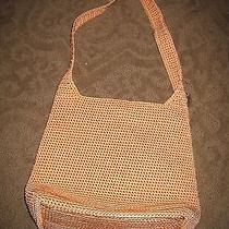 The Sak Orange Crocheted Handbag - Nwot Photo