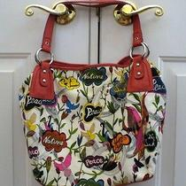 The Sak Peace Bird Print Purse Handbag  Photo