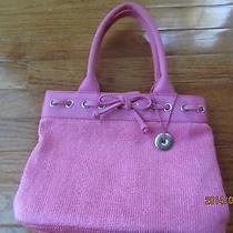 The Sak Pink Handbag Purse Cute Photo