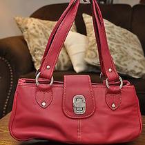 The Sak Pink Leather Handbag Photo