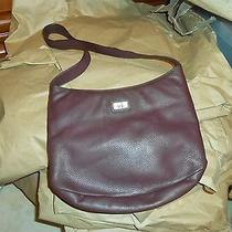 The Sak Pure Leather Brown Shoulder Purse Photo