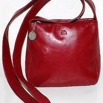 The Sak Pure Leather Red Cross Body Photo