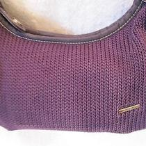 The Sak Purple Crochet Purse Photo