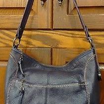 The Sak Purple Purse Leather Euc Photo