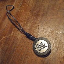 The Sak Purse Bag Charm Wood & Metal Nwot Photo