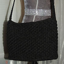 The Sak Purse Black Crochet Photo