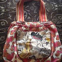 The Sak Red Bird Nature Tote Purse Bag Photo
