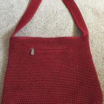 The Sak Red Crochet Handbag Photo