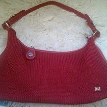 The Sak Red Crochet Purse Photo