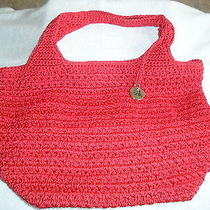 The Sak - Red Crochet Purse Photo