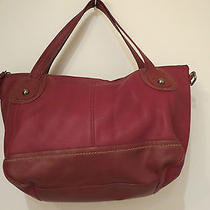 The Sak Red Handbag Photo