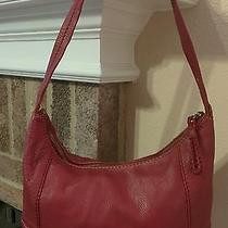 The Sak Red Leather Handbag Photo