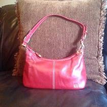 The Sak Red Leather Purse Photo