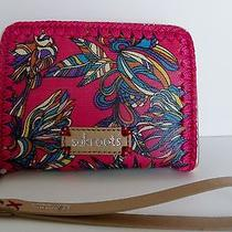The Sak Roots Hot Pink Treehouse Smartphone Wallet - Nwt Photo