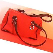 The Sak Satchel Handbag Purse Redsolid Basehangtag Photo