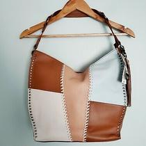 The Sak Silverlake Tobacco Whipstitch Patch Leather Hobo Bag Photo