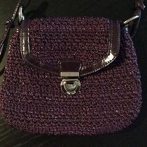 The Sak Small Purple Handbag Nwot Photo