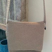 The Sak Tan Knit Handbag Photo