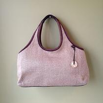 The Sak Tan Knit Shoulder Bag Handbag Purse Photo