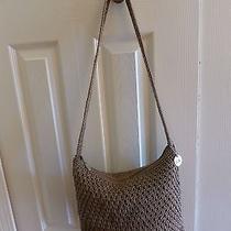 The Sak Taupe Crochet Handbag Photo