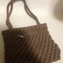 The Sak Taupe Crochet Purse Photo