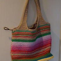 The Sak Tote in Colorful Summer Stripes  Photo