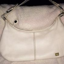 The Sak White Leather Purse Photo