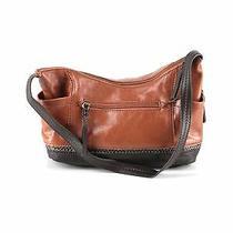 The Sak Women Brown Leather Shoulder Bag One Size Photo